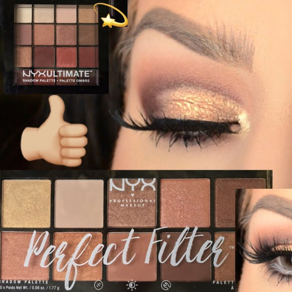 NEW SEALED NYX Perfect Filter GOLDEN HOUR palette Boutique